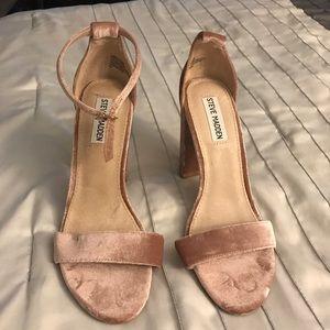 Steve Madden chunky heels.